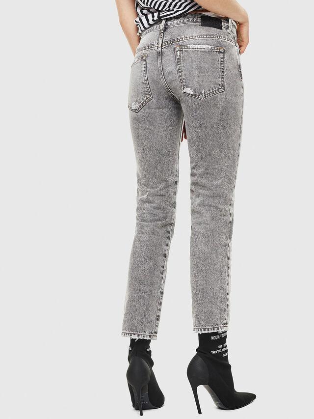 Diesel - D-Rifty 8880X, Grigio Chiaro - Jeans - Image 2