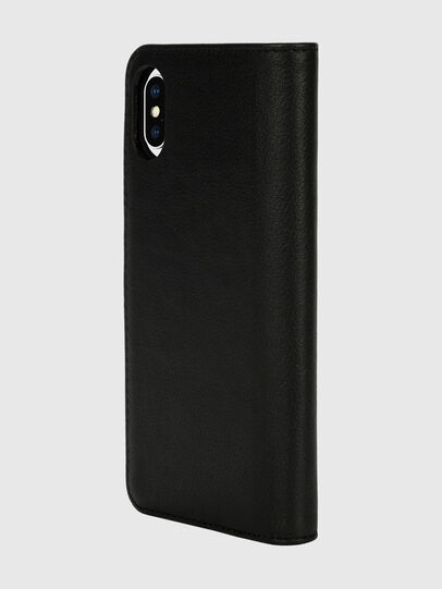Diesel - DIESEL 2-IN-1 FOLIO CASE FOR IPHONE XS & IPHONE X, Nero/Bianco - Cover a libro - Image 5