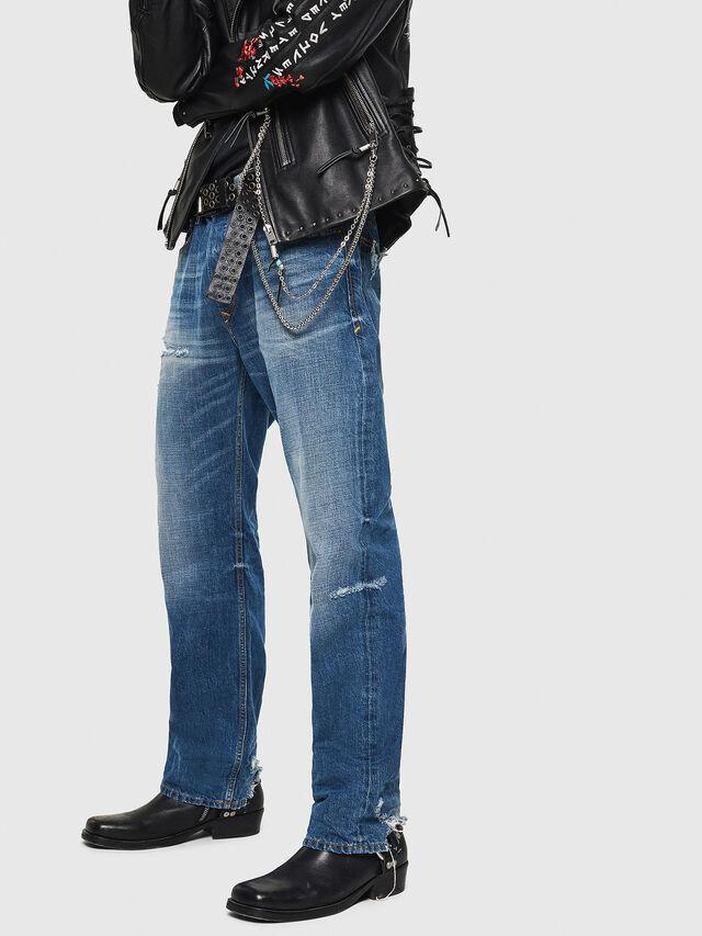 Diesel - D-Kodeck 080AH, Blu medio - Jeans - Image 4