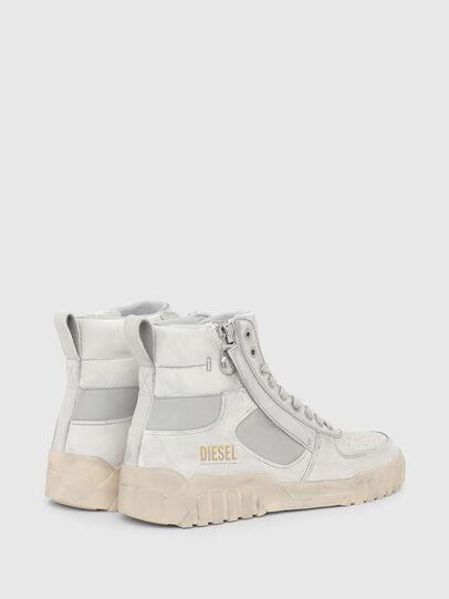 Diesel - S-RUA MID SK, Bianco - Sneakers - Image 3
