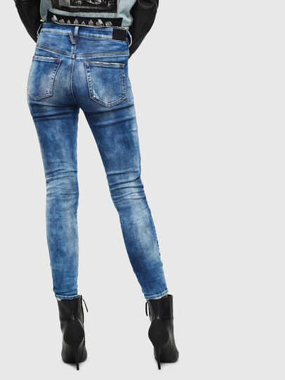 Diesel - Slandy High 0096J, Blu medio - Jeans - Image 2