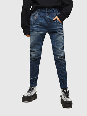 Fayza JoggJeans 083AS, Blu Scuro - Jeans