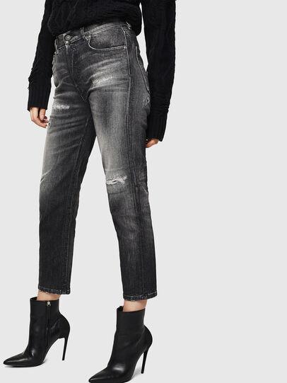 Diesel - Aryel 0095J, Nero/Grigio scuro - Jeans - Image 4