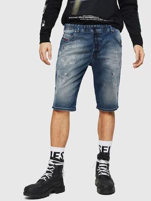 D-KROOSHORT JOGGJEANS, Blu medio - Shorts