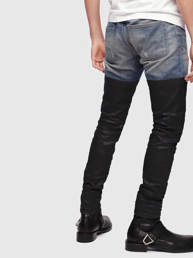 Diesel - D-Strukt 087AP, Blu/Nero - Jeans - Image 2