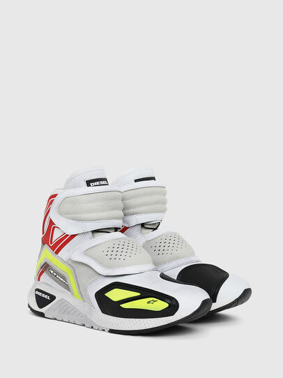 Diesel - ASTARS-SKBOOT, Bianco - Sneakers - Image 2