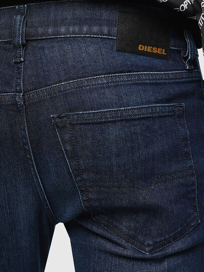 Diesel - D-Luster 0095K, Blu medio - Jeans - Image 4