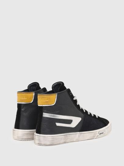 Diesel - S-MYDORI ML, Nero/Giallo - Sneakers - Image 3