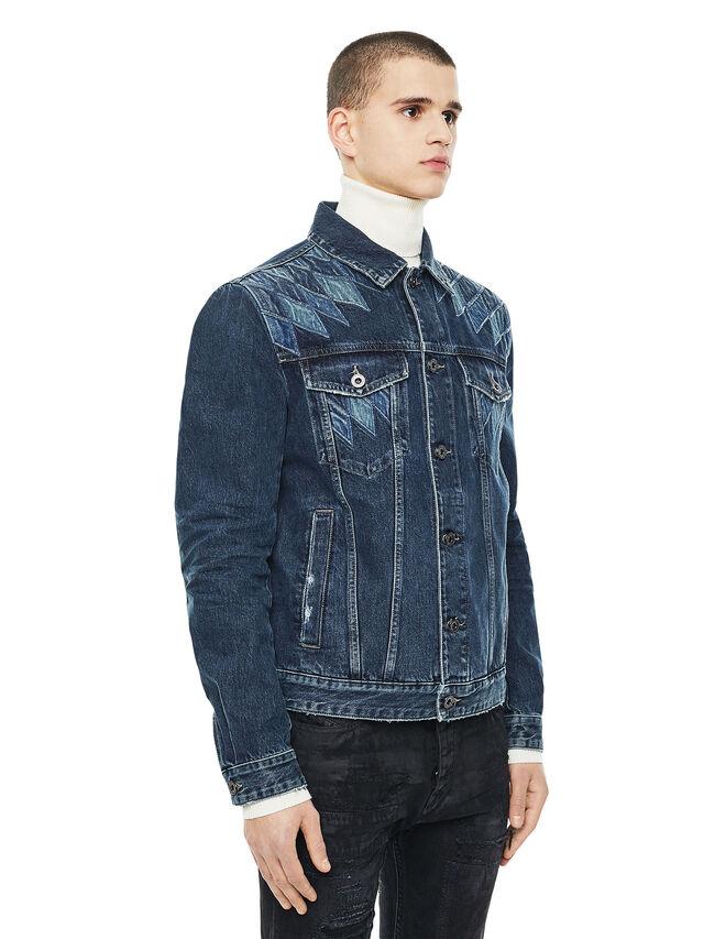 Diesel - JONDER, Blu Jeans - Giacche - Image 4