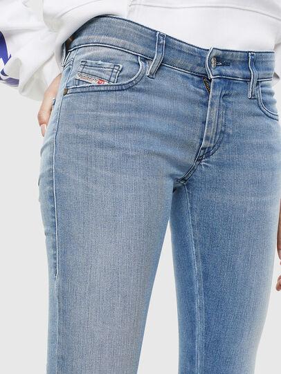 Diesel - Slandy Low 0096L, Blu Chiaro - Jeans - Image 3