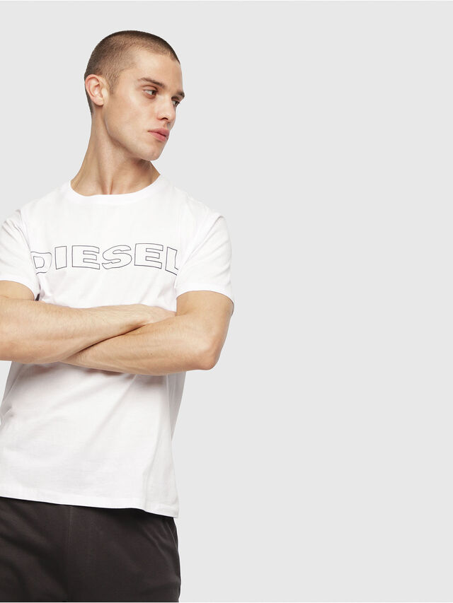 Diesel - UMLT-JAKE, Bianco - T-Shirts - Image 1
