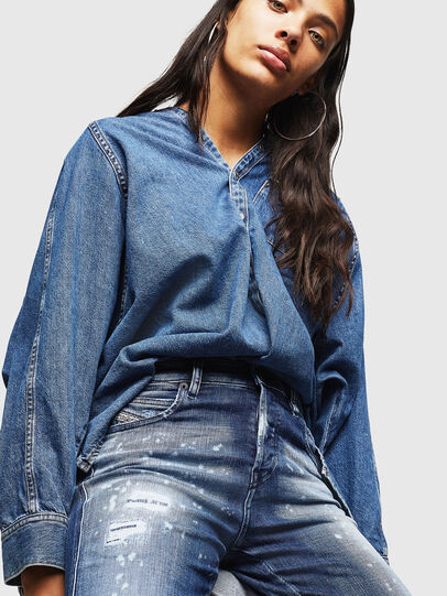 Diesel - Babhila 0091Y, Blu medio - Jeans - Image 3