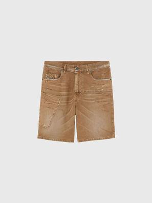 D-AZERR-SHORT JOGGJEANS, Marrone - Shorts