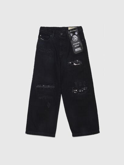 Diesel - WIDEE-J-SP, Nero - Jeans - Image 1