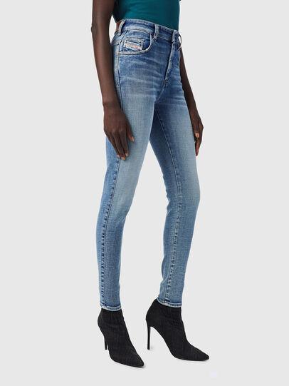 Diesel - Slandy High 09B09, Blu Chiaro - Jeans - Image 6