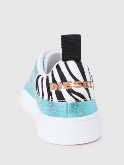 Diesel - S-CLEVER LOW LACE W, Azzurro - Sneakers - Image 4