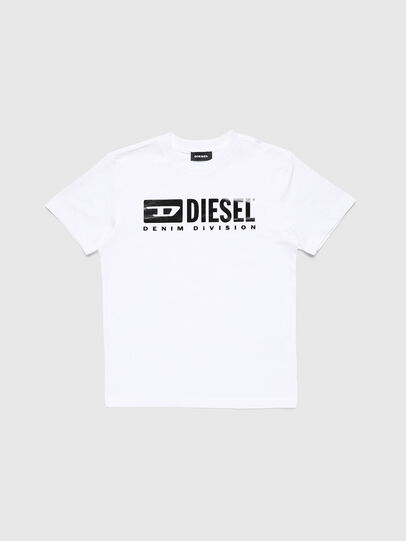 Diesel - TJDIVISION, Bianco - T-shirts e Tops - Image 1