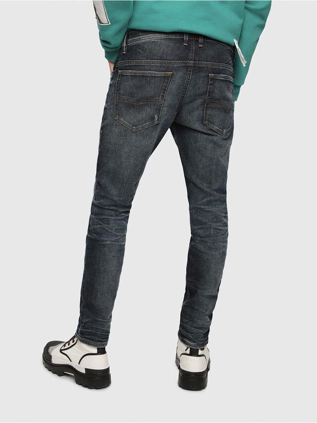 Diesel - Thommer JoggJeans 087AI, Blu Scuro - Jeans - Image 2