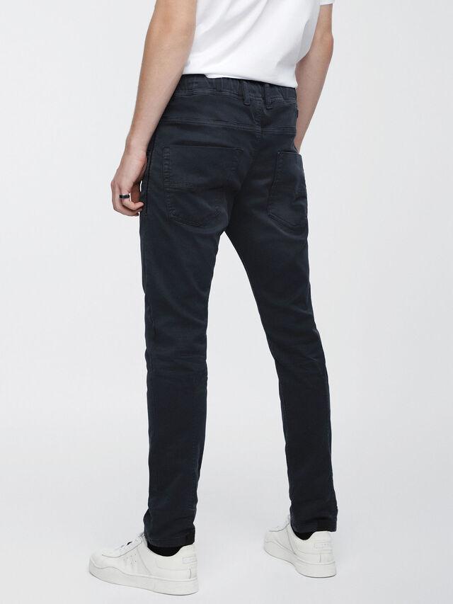 Diesel - Krooley JoggJeans 0670M, Blu Scuro - Jeans - Image 2