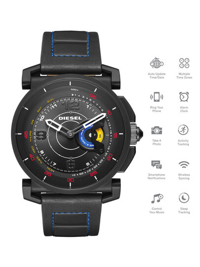 Diesel - DT1001, Nero - Smartwatches - Image 1