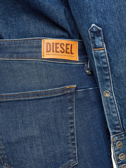 Diesel - D-Jevel 009HL, Blu Scuro - Jeans - Image 6
