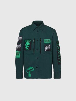 S-MARCUS, Verde Scuro - Camicie