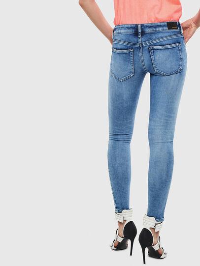 Diesel - Slandy Low 0095P, Blu Chiaro - Jeans - Image 2