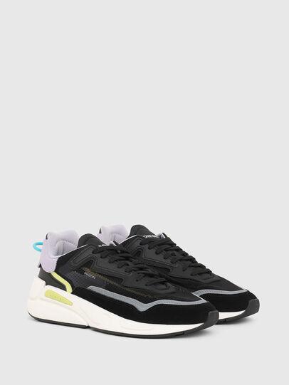 Diesel - S-SERENDIPITY SM W, Nero/Viola - Sneakers - Image 2