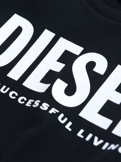 Diesel - TJUSTLOGO, Nero - T-shirts e Tops - Image 3