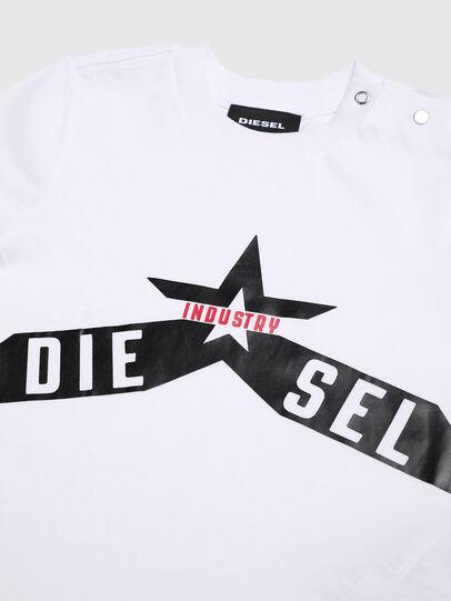 Diesel - TDIEGOA7B, Bianco - T-shirts e Tops - Image 3