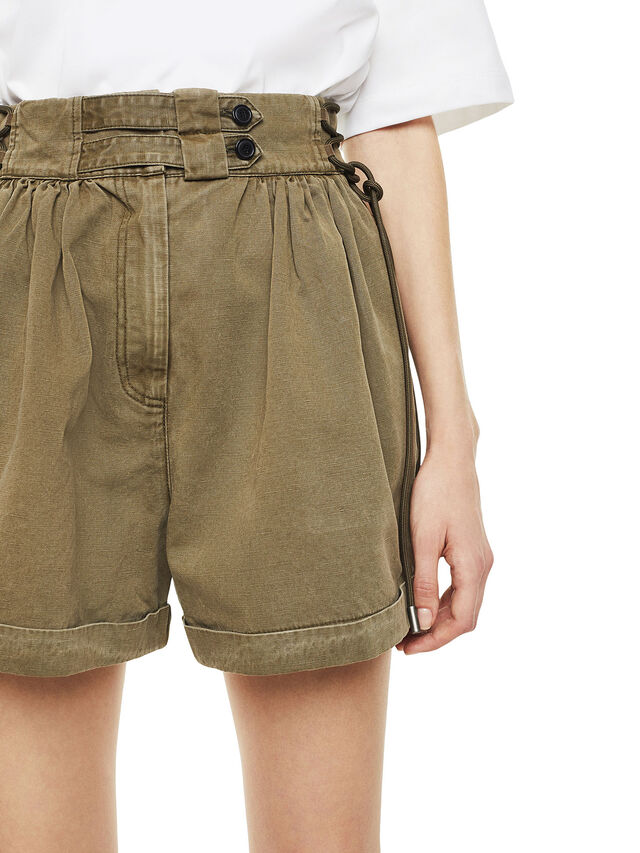 Diesel - SIMONY, Verde Militare - Shorts - Image 3