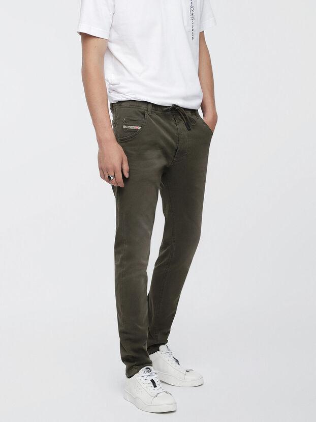 Krooley JoggJeans 0670M, Verde Militare - Jeans