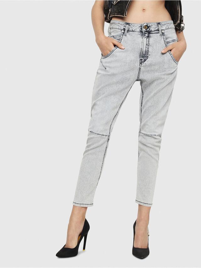 Diesel - Fayza JoggJeans 069FE, Blu Chiaro - Jeans - Image 1
