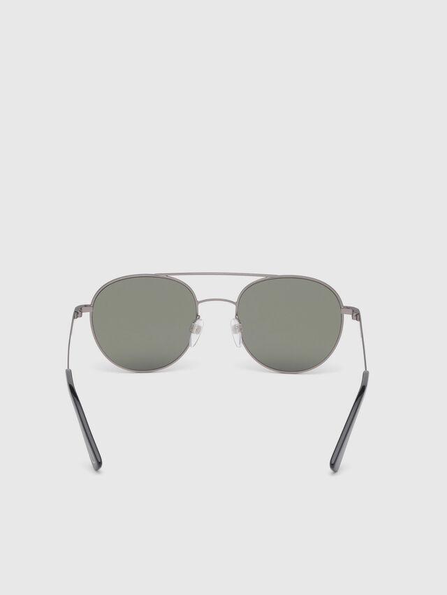 Diesel - DL0286, Corteccia - Occhiali da sole - Image 4