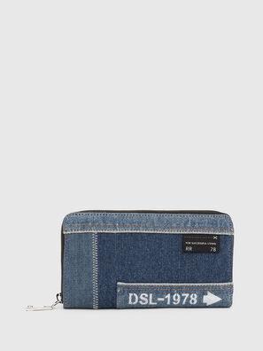 GRANATO LC, Blu Jeans - Portafogli Con Zip