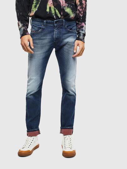 Diesel - Thommer 009BQ, Blu Scuro - Jeans - Image 1