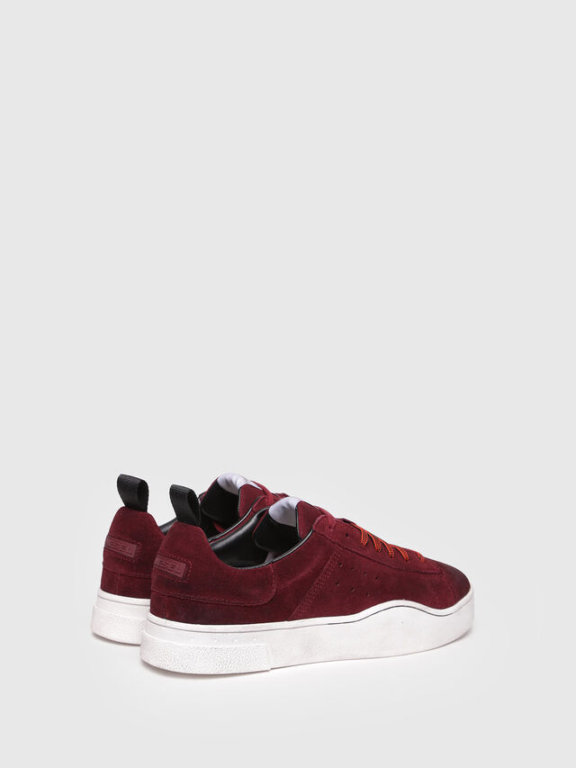 Diesel - S-CLEVER LOW, Rosso Vino - Sneakers - Image 3