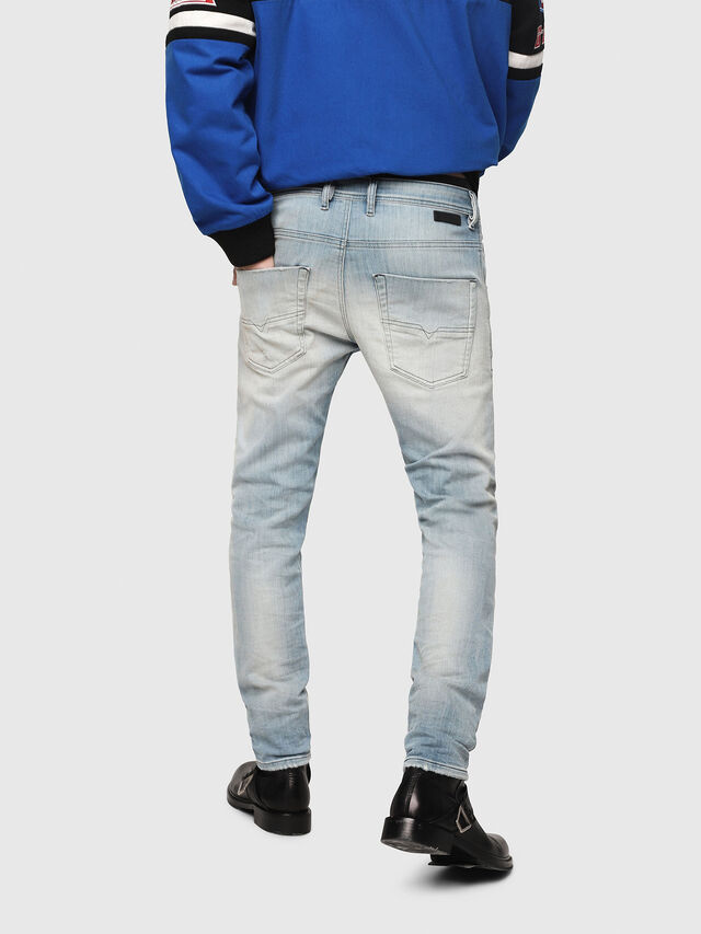 Diesel - Krooley JoggJeans 087AB, Blu Chiaro - Jeans - Image 2