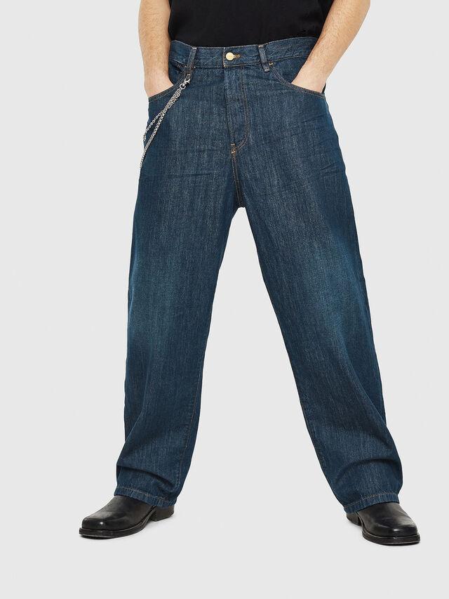 Diesel - D-Vided 088AC, Blu Scuro - Jeans - Image 1