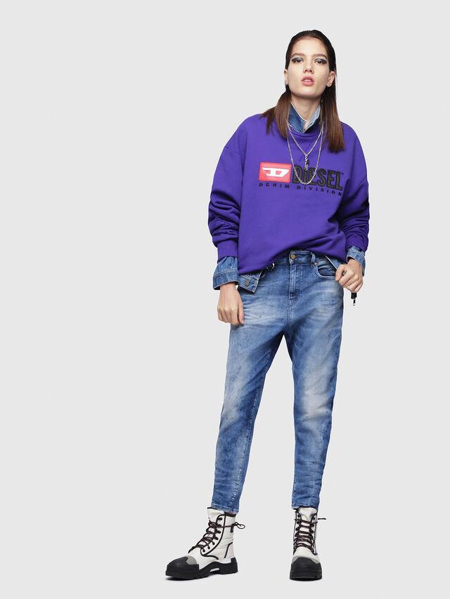Diesel - Candys JoggJeans 080AS, Blu medio - Jeans - Image 4