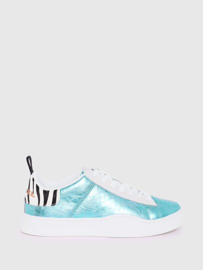 Diesel - S-CLEVER LOW LACE W, Azzurro - Sneakers - Image 1