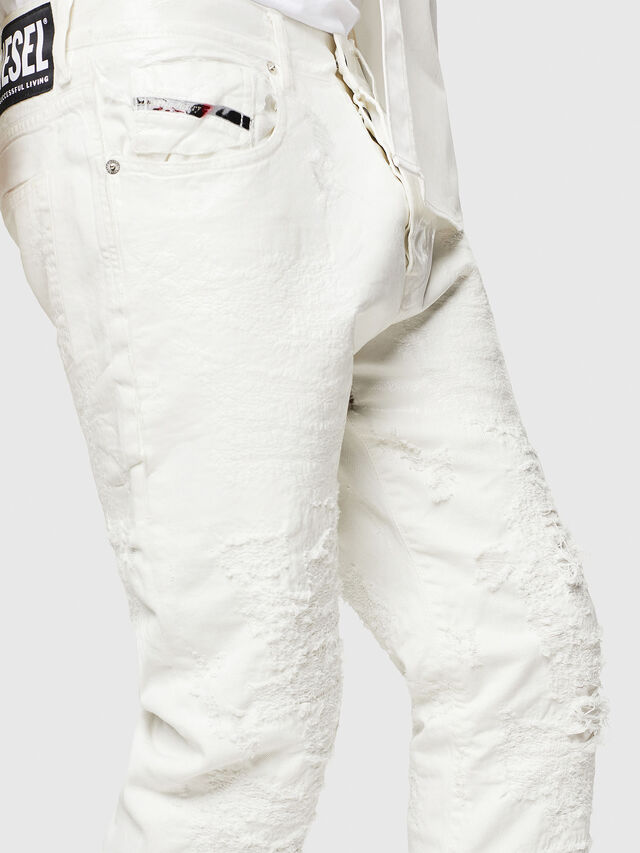 Diesel - Mharky 069GY, Bianco - Jeans - Image 3