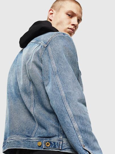 Diesel - D-BRAY, Blu Jeans - Giacche in denim - Image 5