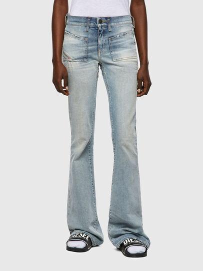 Diesel - D-Ebbey 09A04, Blu Chiaro - Jeans - Image 1