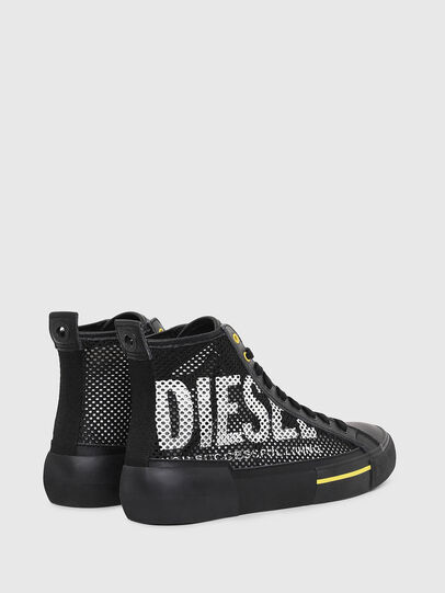 Diesel - S-DESE MID CUT, Nero/Giallo - Sneakers - Image 3