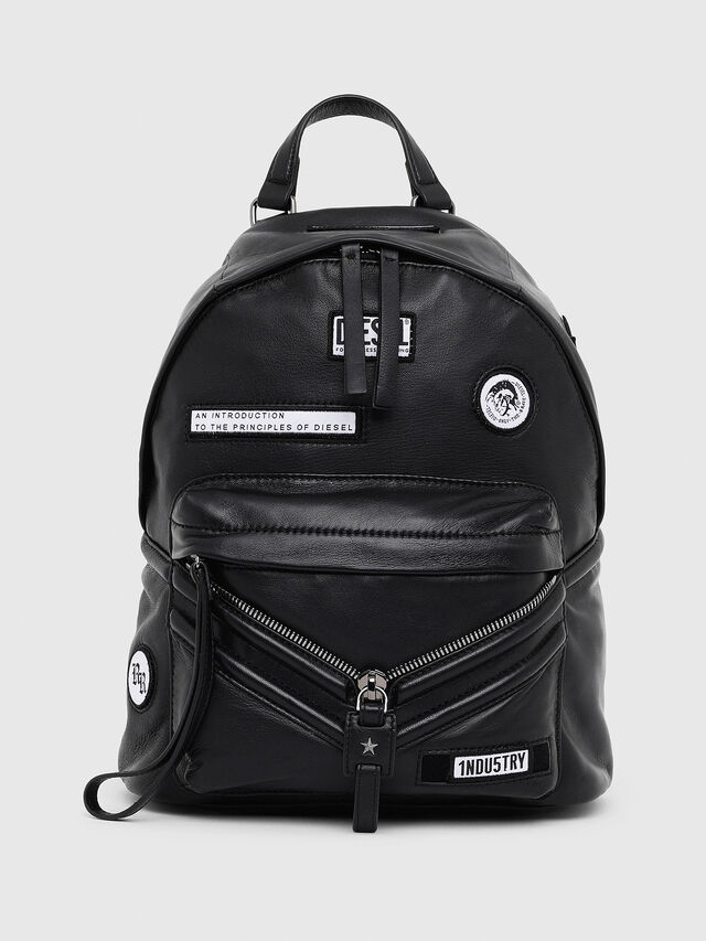 Diesel - LE-ZIPPER BACKPACK, Nero - Zaini - Image 1
