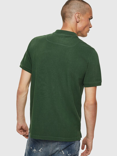 Diesel - T-NIGHT-NEW, Verde Scuro - Polo - Image 2