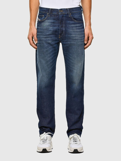 Diesel - D-Macs 009GQ, Blu Scuro - Jeans - Image 1