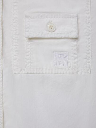 Diesel - S-ALLEN-KA, Bianco - Camicie - Image 4