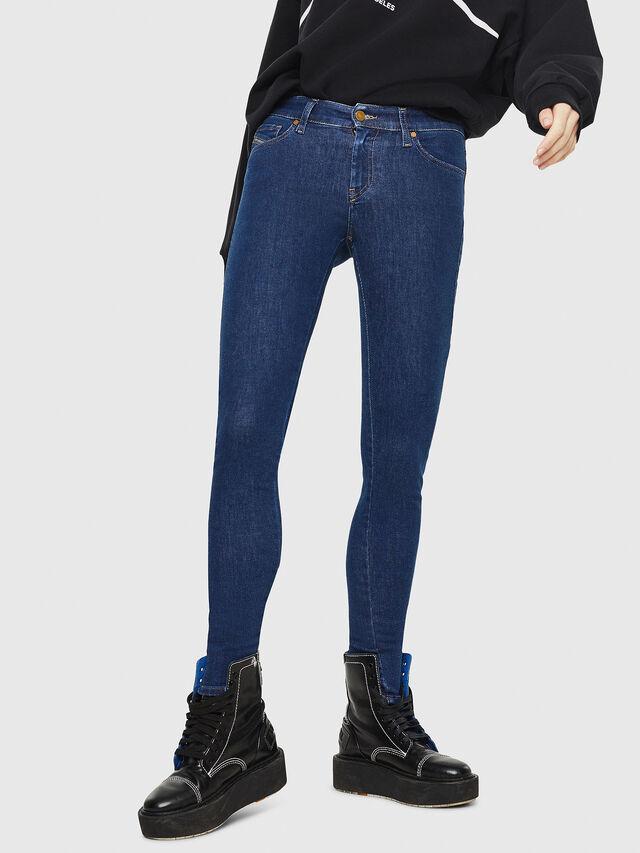 Diesel - Slandy 082AA, Blu Scuro - Jeans - Image 1